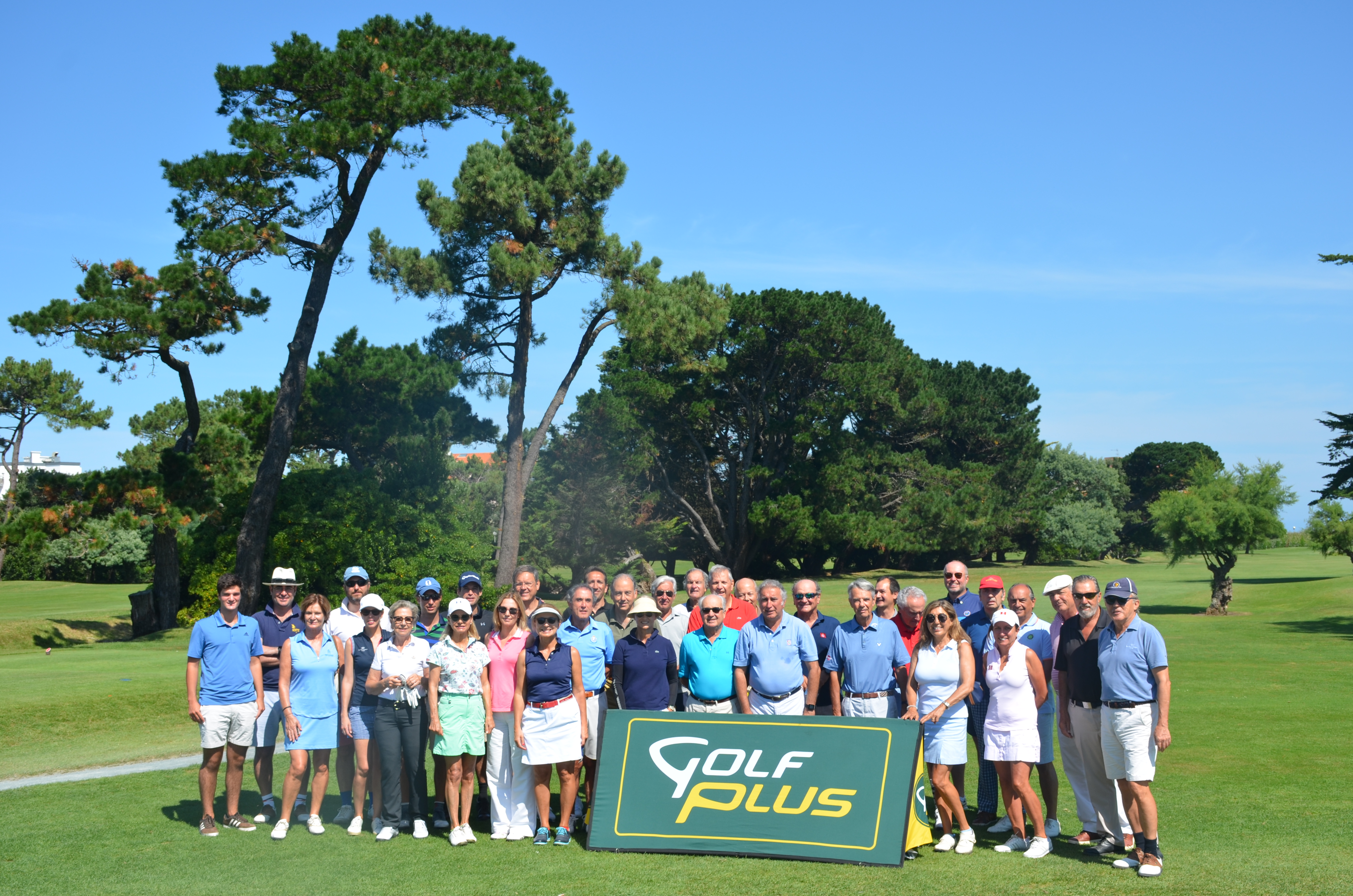 Participantes del VIII Biarritz Scramble Cup – Stanford Europe Golf Tournament